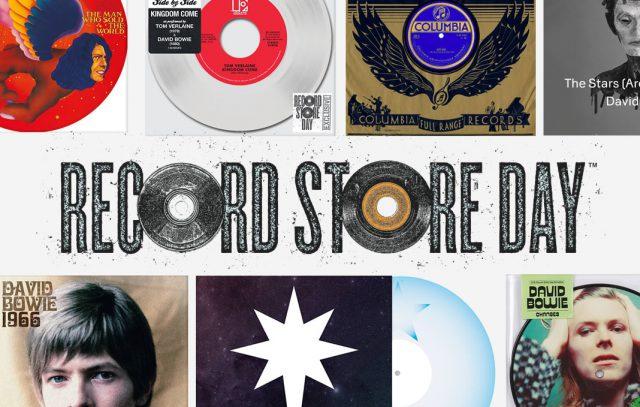 RSD Bowie Items / レコード・ストア・デイ 歴代アイテム